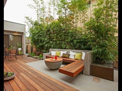 Bamboo Garden Design Idea Asian Landscaping Concept YouTube