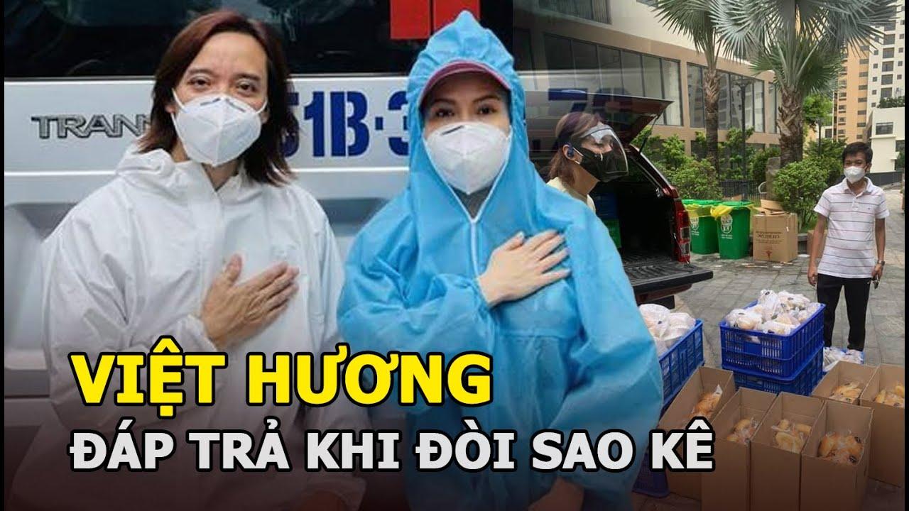 Việt Hương bị yêu cầu sao kê tiền từ thiện và màn đáp trả siêu gắt - YouTube
