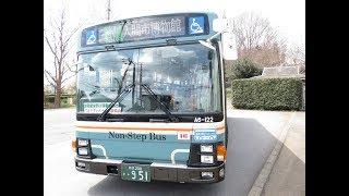 西武バス 飯能A6-122 PJ-LV234L1(入市31-2準急 入間市駅→入間市博物館)