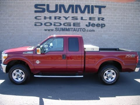 USED 2013 FORD F250 SUPERCAB POWERSTROKE DIESEL WALK AROUND REVIEW WISCONSIN SOLD! 9096 SUMMITAUTO