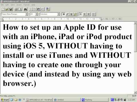 how to use iphone 4 without apple id