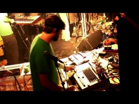 Animal Collective - Who Could Win a Rabbit (live @ Lyon, France 2007)