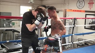 REGIS PROGRAIS HOW TO CUT OFF RING & ATTACK OPPONENT TRAINING DRILL