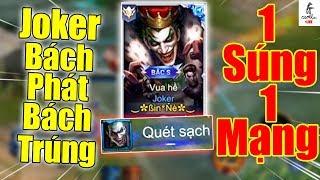 [Gcaothu Live] Khiếp Sợ Joker Bắn Bách Phát Bách Trúng - 1 Súng 1 Mạng Quét Sạch Team Bạn