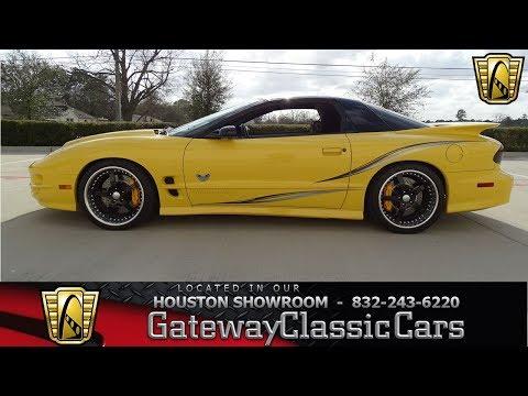 2002 Pontiac Trans Am Gateway Classic Cars #1139 Houston Showroom