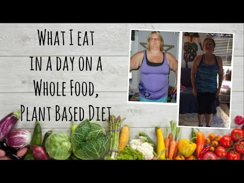 What I eat in a day on a Whole Food Plant Based Diet WFPB Lifestyle to lose 70+ pounds