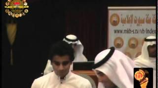 تقديم رجا الله السلمي في حفل زاهد قدسي للتعليق الرياضي 1432 عدسة شبكة مكة سبورت