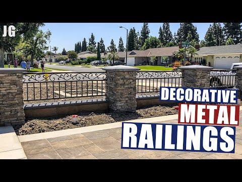 Outdoor Decorative Metal Railings | JIMBO'S GARAGE