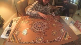 Spanish Ceiling Jigsaw Puzzle Timelapse