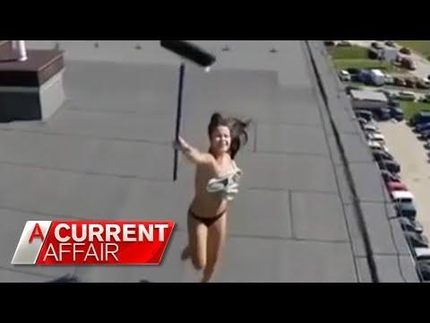 How to combat spy drones   A Current Affair Australia 2018