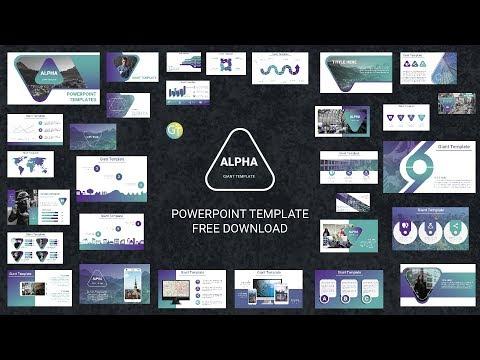 Morph Free Powerpoint Templates 2018 Alpha Free