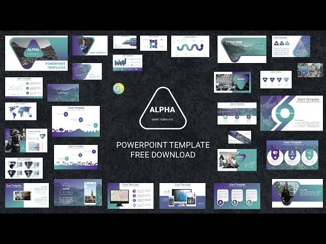Morph Free Powerpoint Templates 2018 Alpha Free Powerpoint
