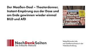 Der Maaßen-Deal – Theaterdonner, Instant-Empörung aus der Dose …