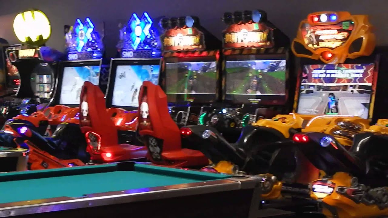 Arcade Game Rooms BumperNets Riverchase Galleria Mall Birmingham AL