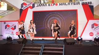 LADYBABY performance at Japan Expo Malaysia 2018 Day 3.