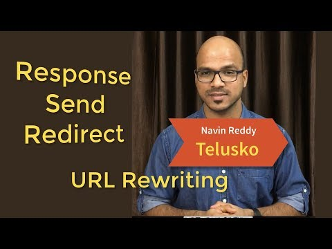 #9 Servlet and JSP Tutorial |  sendRedirect | URL Rewriting