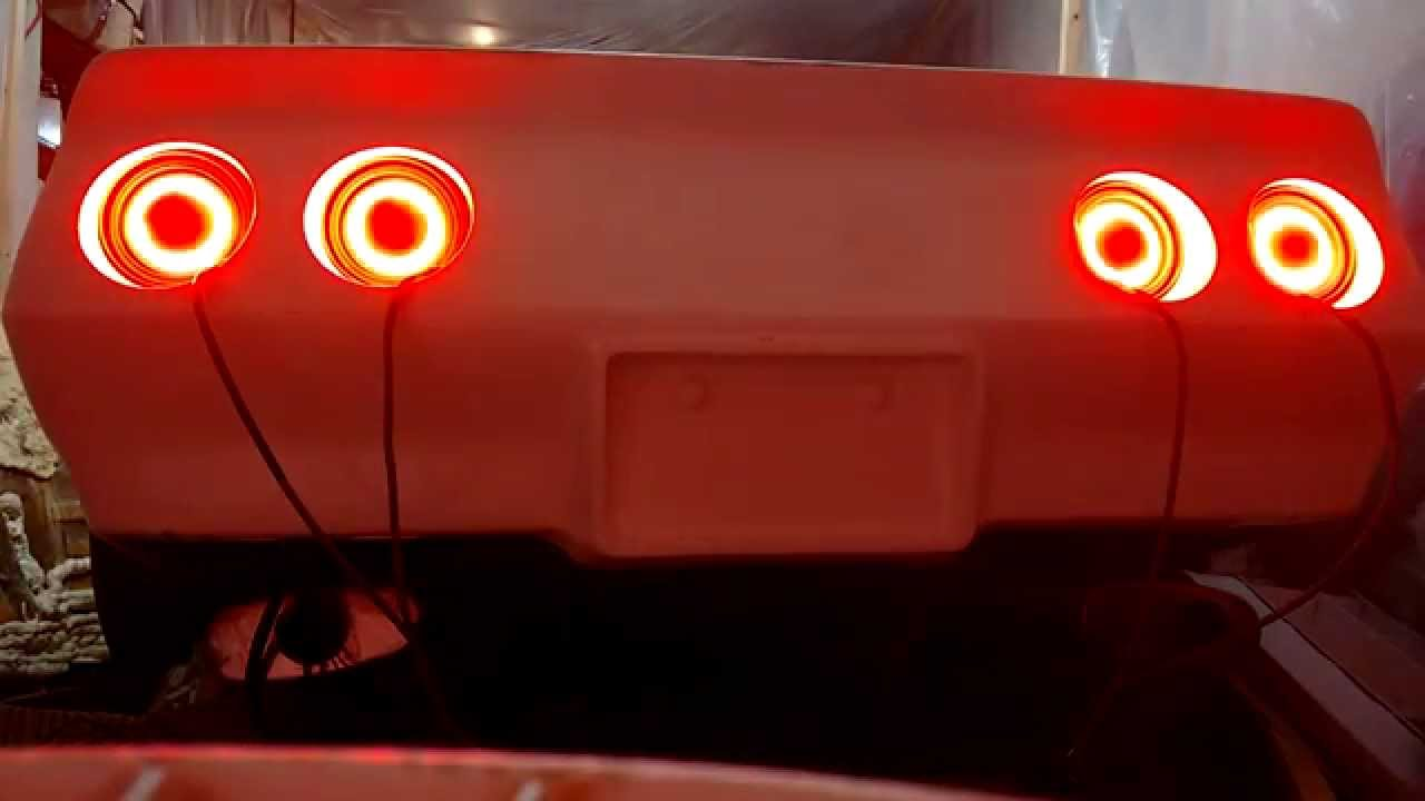 Corvette C3 Custom Led Tail Lights Youtube
