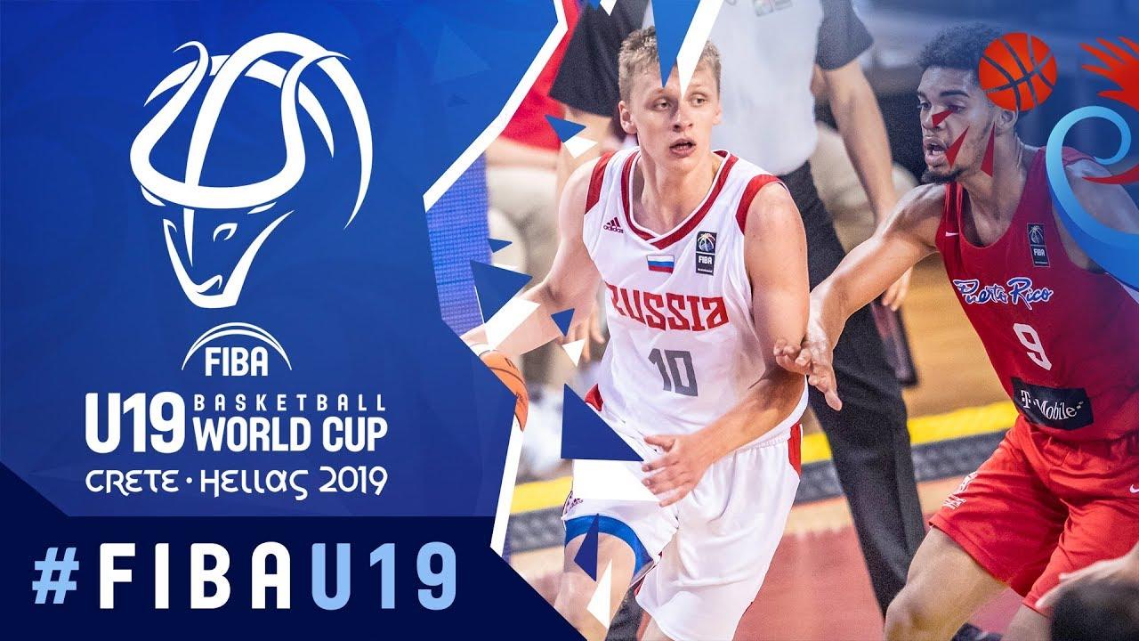 Russia v Puerto Rico - Highlights - Class 5-6 - FIBA U19 Basketball World Cup 2019