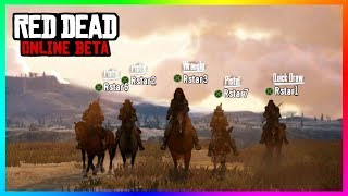 Red Dead Online - NEW DETAILS! Release Date, Trailer, Character Creation, Role-Playing & MORE!