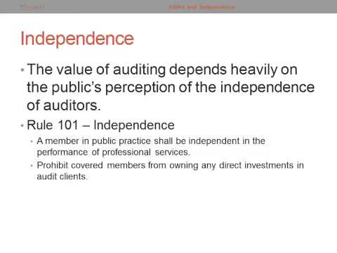 independence of auditing 33 accounting news: auditor independence supervisory insights winter 2006 this regular feature focuses on topics of critical importance to bank accounting.