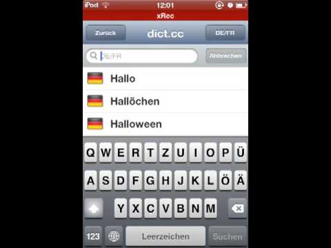 cc deutsch