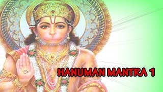 HANUMAN MANTRA 1 - ( Bhajan & Mantra  Full Songs )