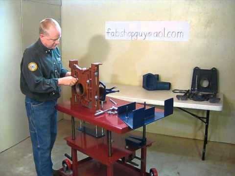 Water Closet Carrier Jig Youtube