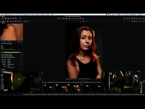 Sneak Peek behind the scenes of the infamous Adorama FREE Open Shoot On Set with Daniel Norton