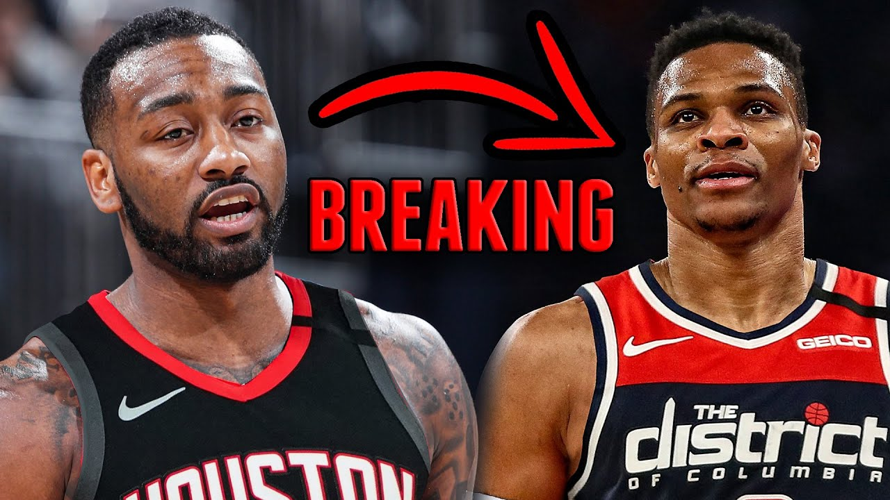 Rockets' Russell Westbrook Traded to Wizards for John Wall