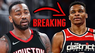 BREAKING: HOUSTON ROCKETS TRADE RUSSELL WESTBROOK TO WASHINGTON WIZARDS FOR JOHN WALL!