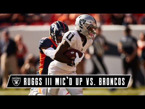 Henry Ruggs III Mic'd Up vs. Broncos: 'All Bama on the Board!' | Week 6 | Las Vegas Raiders | NFL