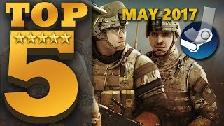 Top 5 NEW FREE TO PLAY Steam Games (MAY 2017)