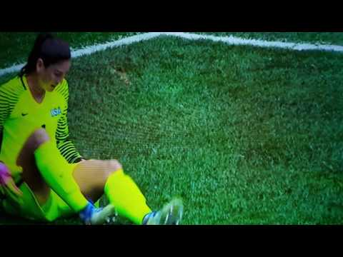 Did Hope Solo just pee on herself during the Olympics 2016?