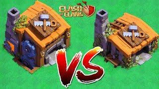 İnşaatçı Binası 7 VS İnşaatçı Binası 3 !!! Clash Of Clans