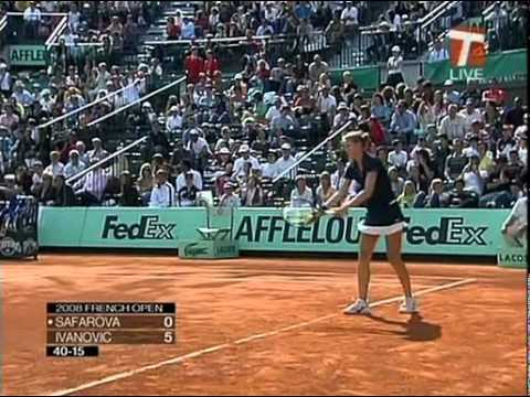 Ana Ivanovic(2008-Roland Garros 2R) Vs Lucie Safarova(Tiojano64).avi
