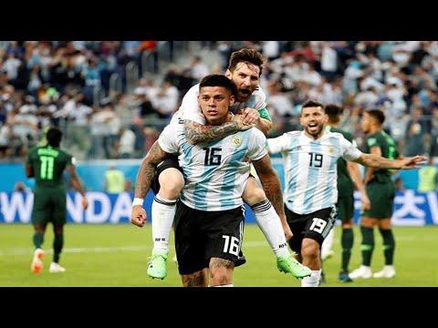 Gol De Marcos Rojo A Nigeria (Relatos Argentinos)