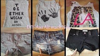 DIY - Kleidung verändern #3 / Aus Alt mach Neu