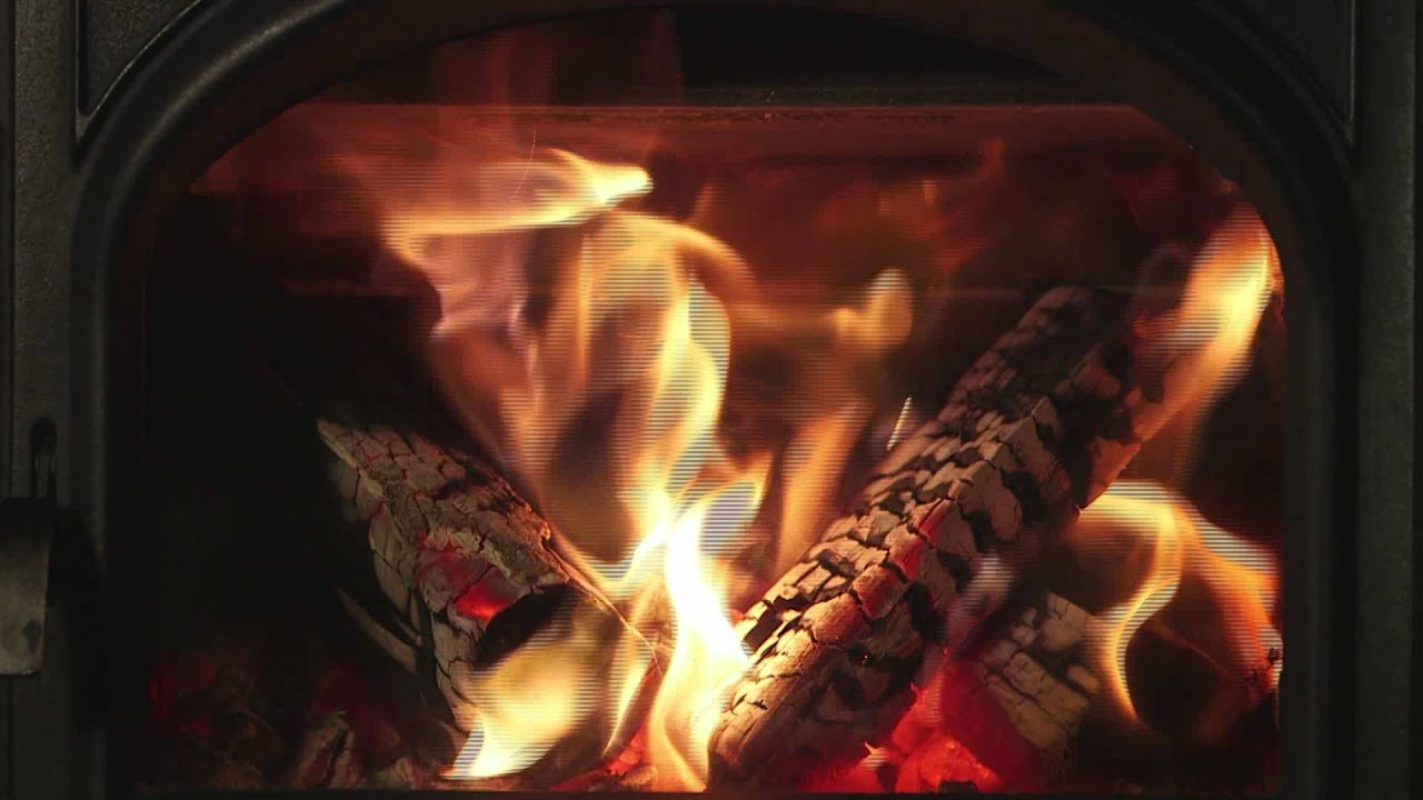 Crackling Fireplace on Loop - YouTube