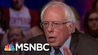 Bernie Sanders: World Needs To Tackle ISIS | Democratic Forum | MSNBC