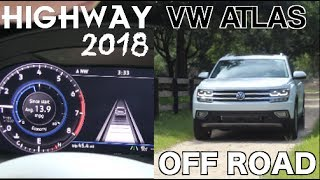 2018 Volkswagen ATLAS - Interstate Road Test & OffRoad | Safety Features - Middleton Place