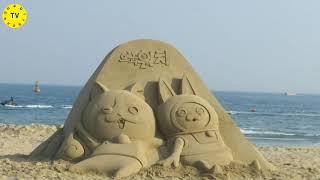 부산 해운대 모래축제 하일라이트(2015-2019)♥힐…