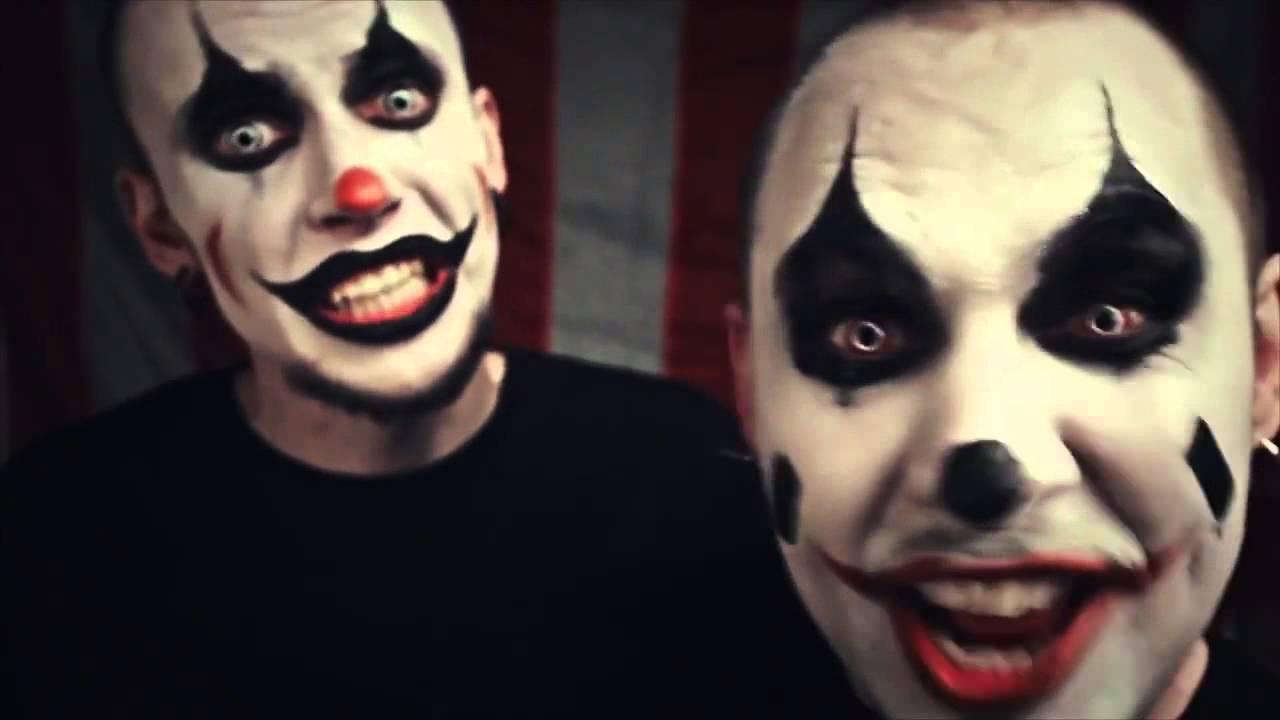 фото злых клоунов