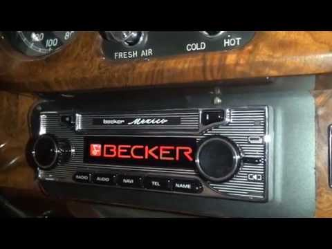 becker mexico retro in a rolls royce youtube. Black Bedroom Furniture Sets. Home Design Ideas