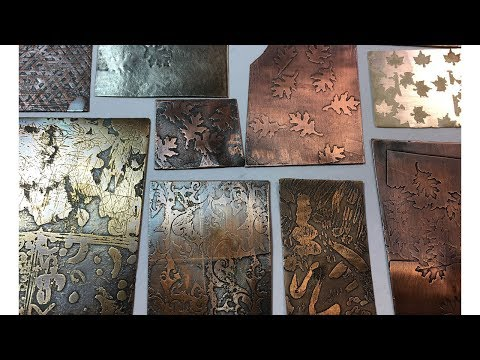 Electrical Etching:  An easy, clean and long-lasting way to etch.