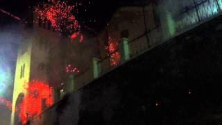 ギリシャ ヒオス島 ロケット花火祭 (Rocket War) 被弾の巻