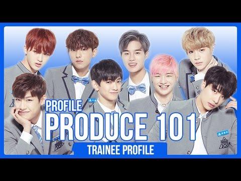 Produce 101 Season 2 Contestants Profile! (30 Boys) | PART 1
