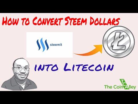 Magic Trick | Turning Your Steem Dollars Into Litecoin