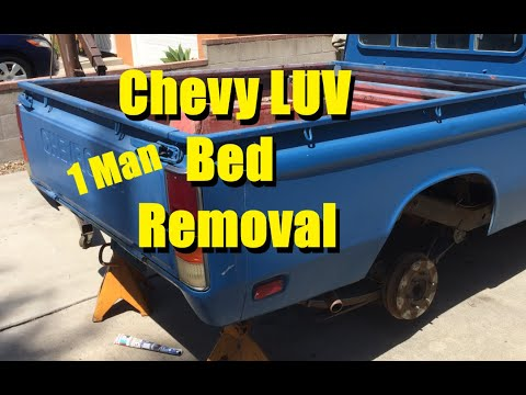 How To Remove A Chevy Luv Bed By Yourself
