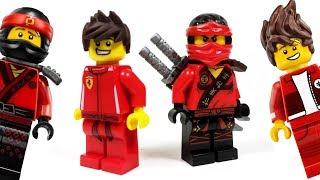 LEGO Ninjago Movie Custom Kai Minifigure