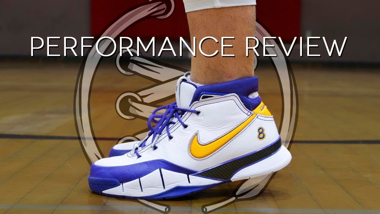 Nike Kobe 1 Protro Performance Review - YouTube 63a04af4f6